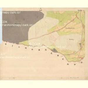 Glöckelberg - c9317-3-014 - Kaiserpflichtexemplar der Landkarten des stabilen Katasters