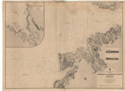 Treshnish Point to the Entrance of the Sound, including an enlarged plan of Loch Cuan