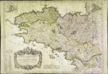 Gouvernement general de Bretagne, qui comprend aussy la gene.te de Nantes