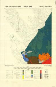 1 : 125,000 Somaliland Protectorate. Geological Survey. D.C.S. 1076, Abdal Qadr