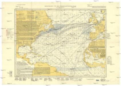 Monatskarte für den Nordatlantischen Ozean