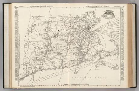 Connecticut, Massachusetts, and Rhode Island.
