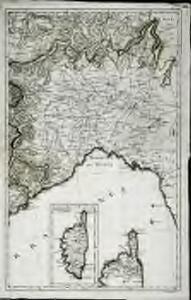 Karte von Frankreich in XVI Blättern, No. 12 und [No. 16]