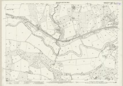 Worcestershire XIX.2 (includes: Boraston; Kington on Teme; Rochford; Tenbury) - 25 Inch Map