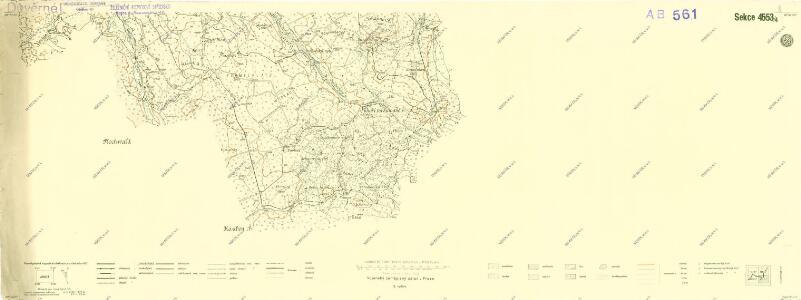 III. vojenské mapování 4553/4