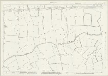 Kent LXXIII.16 (includes: Aldington; Burmarsh; Lympne) - 25 Inch Map
