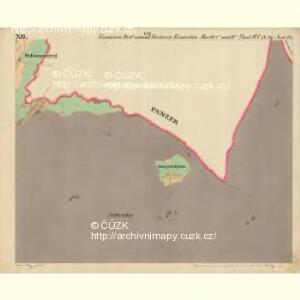 Eisenstein Dorf - c7755-2-012 - Kaiserpflichtexemplar der Landkarten des stabilen Katasters