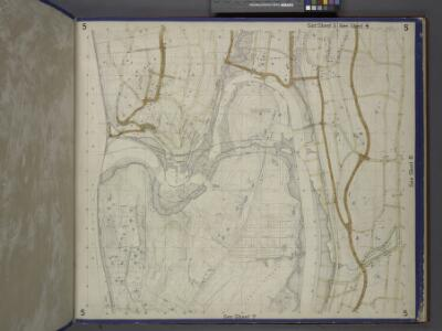 Bronx, Topographical Map Sheet 5; [Map bounded by Morkison St., Johnson Ave., Riverdale Ave., Ackerman St., Church St., Broadway, Macomb St., Albany Road, Bailas Ave., Heath Ave., Boston Ave., Sedgwick Ave.; Including Tee-Taw Ave., Aqueduct Ave., Hamp...