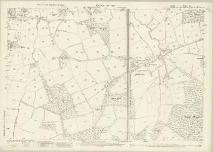 Surrey XLI.12 (includes: Charlwood; Worth) - 25 Inch Map