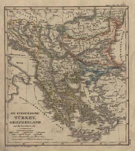 Die EuropaeischeTuerkey, Griechenland und die Jonischen Inseln