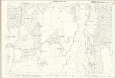 Westmorland XLI.8 (includes: Cartmel Fell; Upper Allithwaite; Witherslack) - 25 Inch Map