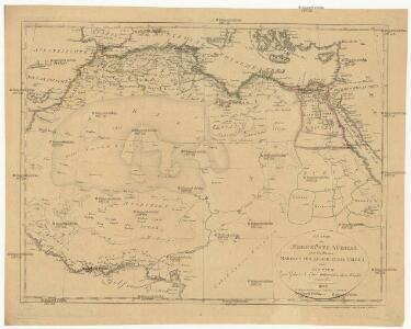 Charte der Nordküste Africas oder die Staaten Marocos, Fez, Algier, Tunis, Tripoli und AEgypten