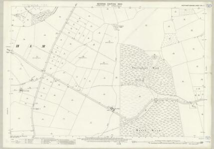 Northamptonshire XVII.2 (includes: Corby; Cottingham; Middleton) - 25 Inch Map