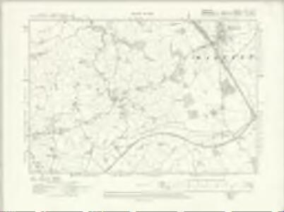 Cheshire LXVII.NW - OS Six-Inch Map