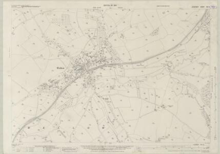 Somerset XXI.5 (includes: Hinton Charterhouse; Wellow) - 25 Inch Map