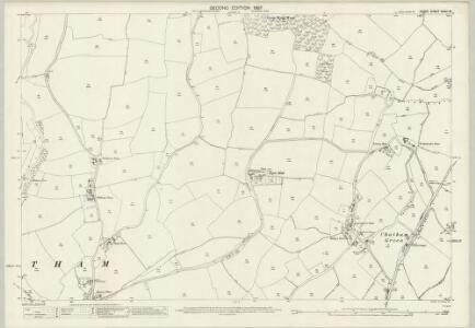 Essex (1st Ed/Rev 1862-96) XXXIII.16 (includes: Great Waltham; Little Waltham) - 25 Inch Map