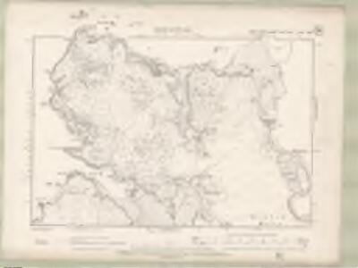 Argyll and Bute Sheet XVIa.SW & NW - OS 6 Inch map