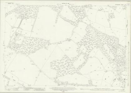 Oxfordshire L.14 (includes: Bix; Nettlebed; Nuffield; Swyncombe) - 25 Inch Map