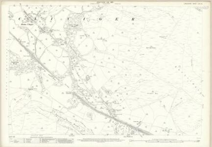 Lancashire LXIV.16 (includes: Cliviger) - 25 Inch Map