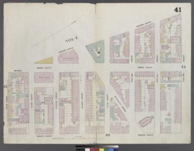 Plate 41: Map bounded by East 12th Street, Second Avenue, 5th Street, Fourth Avenue