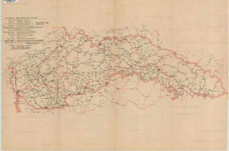 Mapa o stavu čs. silnic
