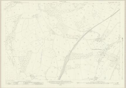 Monmouthshire III.16 (includes: Crucornau Fawr; Llandeilo Bertholau) - 25 Inch Map