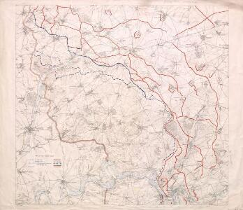 Map of the Somme Front.