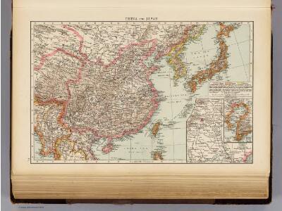 China, Japan.