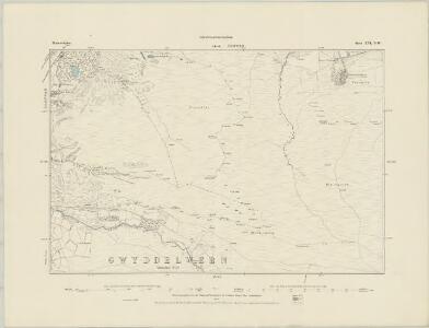 Merionethshire XVI.SE - OS Six-Inch Map