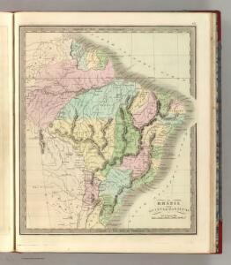 Brazil With Guiana & Paraguay.