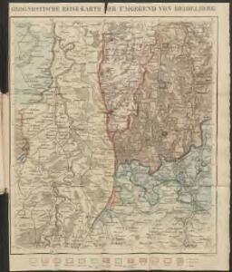 Geognostische Reise-Karte der Umgegend von Heidelberg