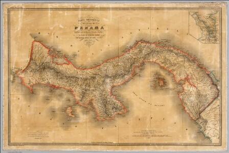 Carta corografica del Estado de Panama