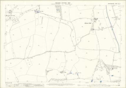 Hertfordshire XIV.11 (includes: Albury; Braughing; Furneux Pelham) - 25 Inch Map