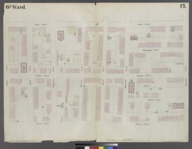 [Plate 17: Map bounded by Atlantic Street, Court Street, Degraw Street, Henry Street]