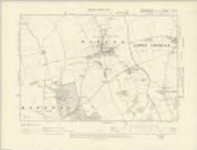 Cambridgeshire LXIIA.NE - OS Six-Inch Map