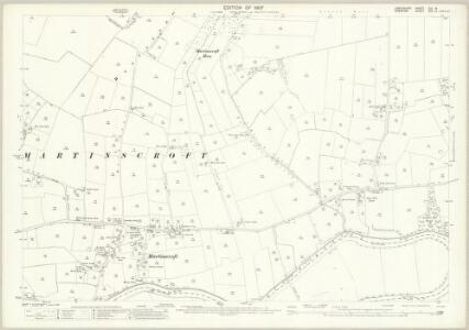 Lancashire CIX.15 (includes: Rixton With Glazebrook; Woolston) - 25 Inch Map