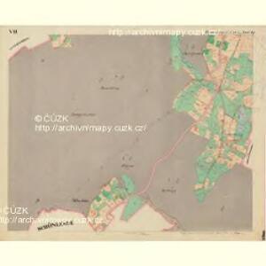 Rumburg - c6626-1-008 - Kaiserpflichtexemplar der Landkarten des stabilen Katasters