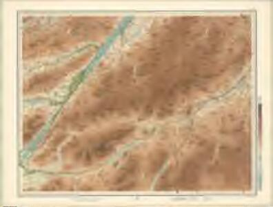 Kingussie, Fort Augustus - Bartholomew's 'Survey Atlas of Scotland'