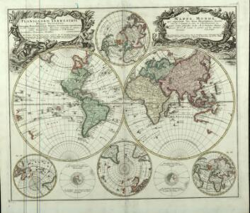 Planiglobii Terrestris Mappa Vniversalis