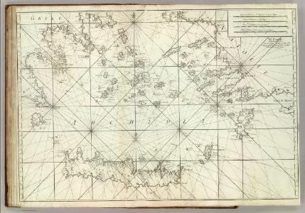 Carte De La Mer Mediterranee.  XI.