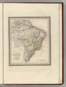 Carte Generale de l'Empire du Bresil.