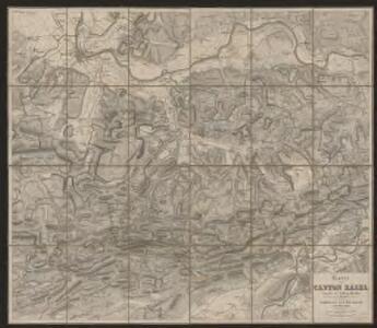 Karte vom Canton Basel