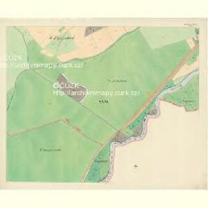 Göding (Hodonin) - m0741-1-028 - Kaiserpflichtexemplar der Landkarten des stabilen Katasters