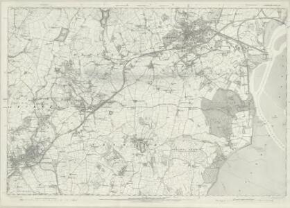 Lancashire XVI - OS Six-Inch Map
