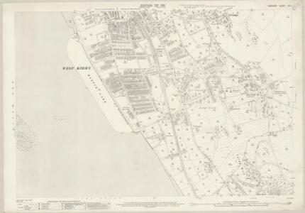 Cheshire XII.11 (includes: Caldy; Grange; Hoylake cum West Kirby) - 25 Inch Map