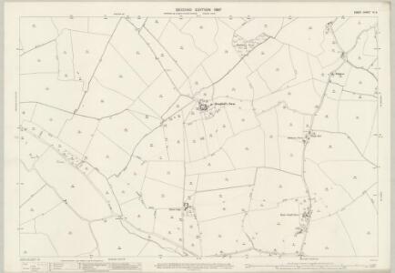 Essex (1st Ed/Rev 1862-96) VI.9 (includes: Belchamp Otten; Belchamp Walter; Foxearth; Pentlow) - 25 Inch Map