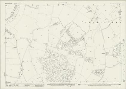 Hertfordshire XII.9 (includes: Ippollitts; Kings Walden; Preston) - 25 Inch Map