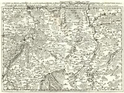 Staaten ahm Rhein, und Necker