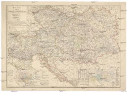 Politisch-statistische Karte vom österreichischen Staate