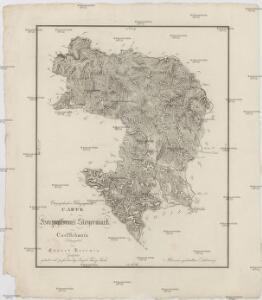 Orographisch-hidrographische Carte des Herzogthums Steyermark
